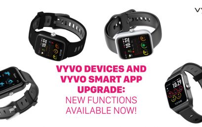 VYVO Devices and VYVO Smart App upgrade: new functions available now!
